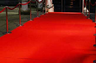 Hire Red Carpet for your wedding celebration